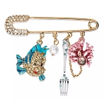 Disney Dangle Pin by Betsey Johnson - The Little Mermaid
