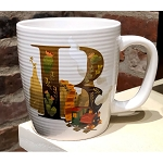 Disney Mug - B is for Big Thunder Mountain Railway - ABC Disney Letters