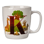 Disney Mug - K is for Kilimanjaro Safaris - ABC Disney Letters