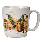 Disney Mug - M is for Main Street USA - ABC Disney Letters