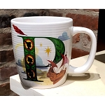 Disney Mug - P is for Peter Pan's Flight - ABC Disney Letters