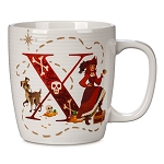 Disney Mug - X is for X Marks the Spot - ABC Disney Letters