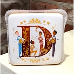 Disney Trinket Box - D is for Dapper Dans - ABC Disney Letters