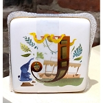 Disney Trinket Box - J is for Jungle Cruise - ABC Disney Letters