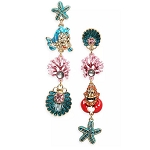 Disney Earrings by Betsey Johnson - The Little Mermaid
