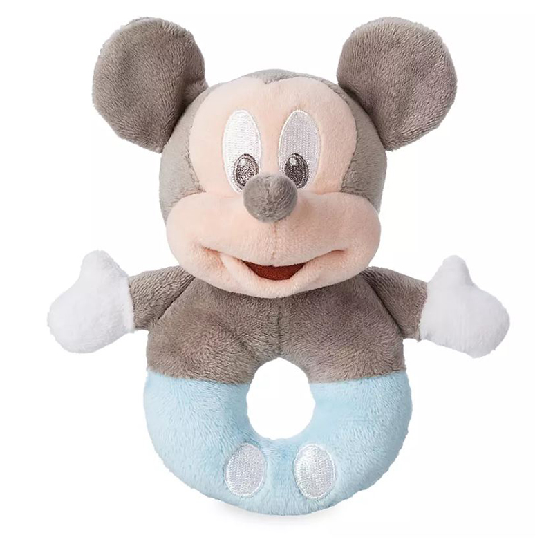 Disney Plush Rattle - Mickey Mouse