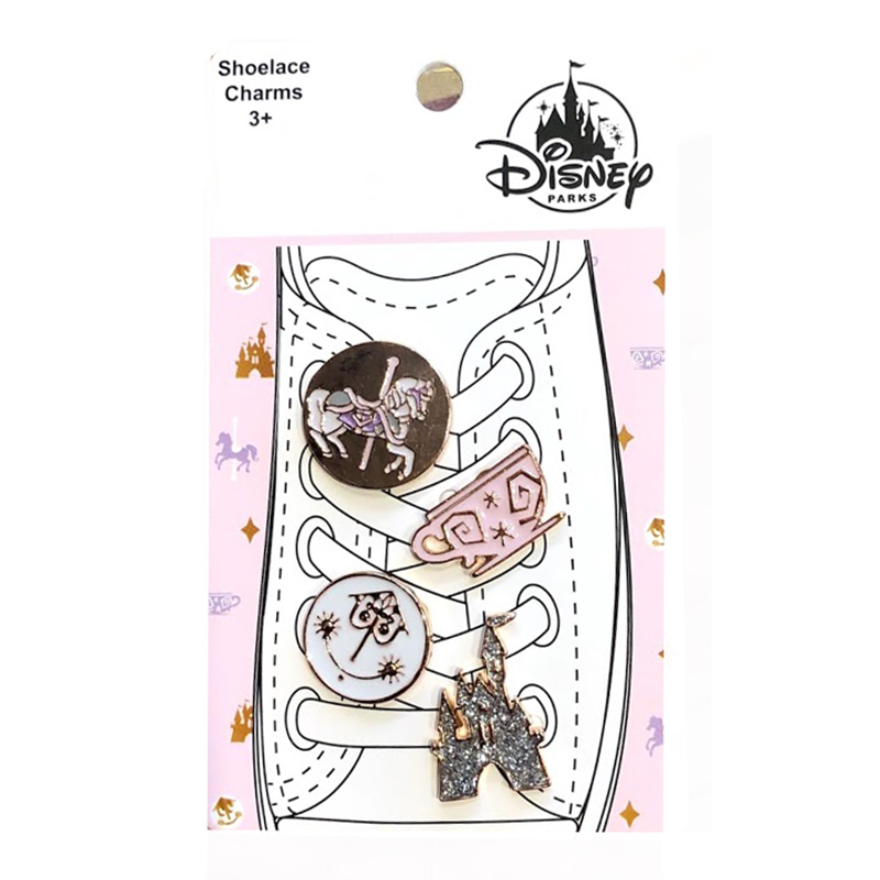 Disney Shoelace Charm Set - Magic Kingdom Attraction Icons