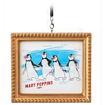 Disney Framed Canvas Ornament - Penguin Waiters - Ink & Paint