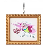 Disney Framed Canvas Ornament - J. Thaddeus Toad - Ink & Paint