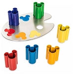 Disney Magnetic Mini Cup Set w/ Holder - Ink & Paint