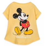 Disney Shirt for Dogs - Mickey Mouse - Walt Disney World - Retro Yellow