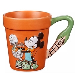 Disney Flower Pot Mug - Mickey Mouse Farmer's Market - Epcot Flower & Garden Festival 2020