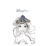 Disney Pin - Jeweled Princess Crown - Ariel