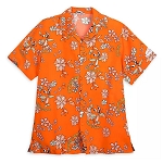 Disney Men's Shirt - Orange Bird Aloha - Epcot Flower & Garden Festival 2020
