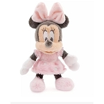 Disney Rattle Plush - Minnie Mouse - 9''