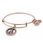 Disney Alex & Ani Bracelet - Fantasyland Castle - Rose Gold