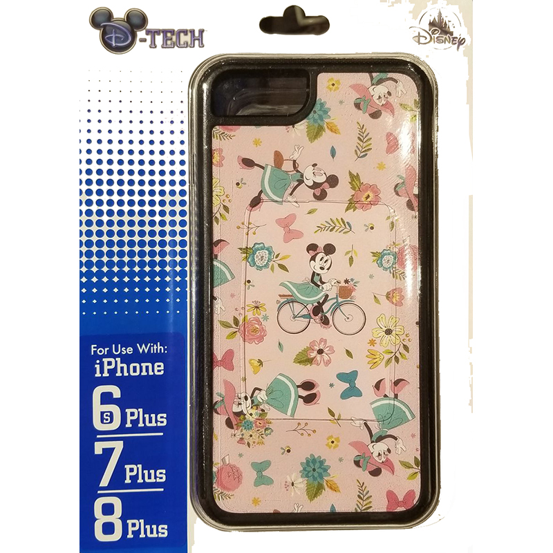 Disney iPhone 8/7/6/6s + PLUS Case - Epcot Flower & Garden Festival 2020 - All Over Minnie Print