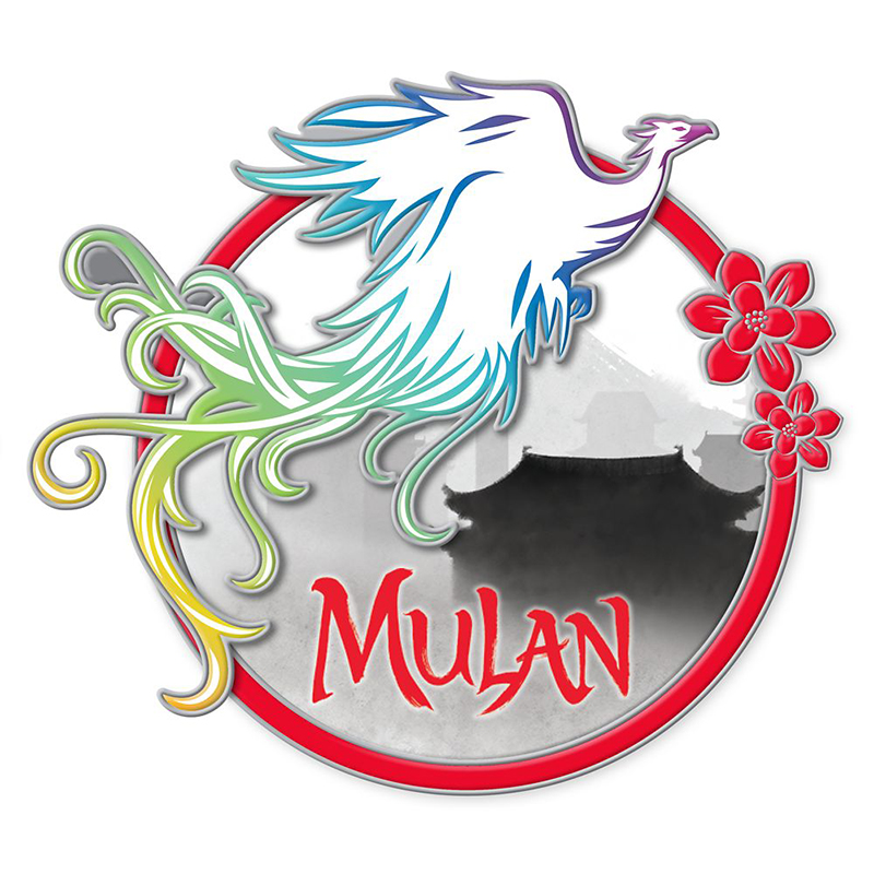 Disney Pin Mulan Live Movie Phoenix