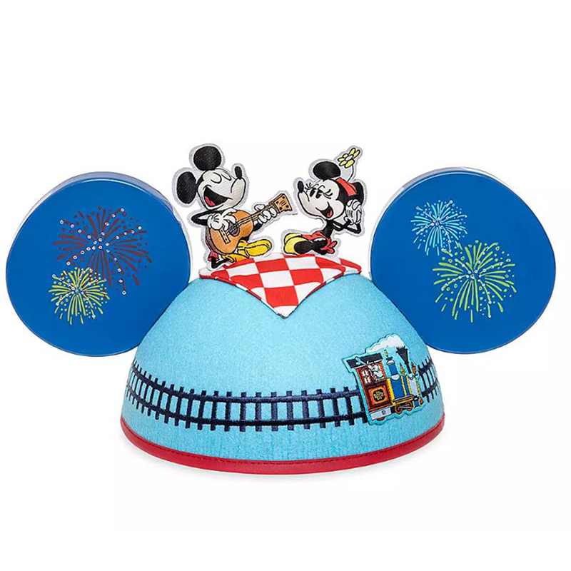 Disney Mickey Ear Hat - Mickey & Minnie's Runaway Railway by Kevin Rafferty