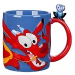 Disney Coffee Cup Mug - Mushu & Cri-Kee