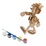Disney 3D Wood Model & Paint Set - Pinocchio - Ink & Paint