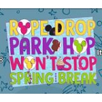 Disney Pin - Spring Break 2020 Rope Drop Park Hop