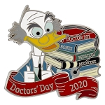 Disney Pin - Doctors' Day - 2020 Ludwig Von Drake