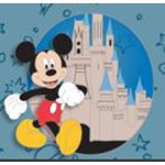 Disney Pin - Annual Passholder Quarterly Series 2020 - Mickey at Magic Kingdom