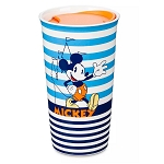 Disney Travel Tumbler Mug - Mickey Mouse Stripes