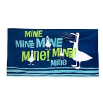 Disney Beach Towel - Seagulls - Mine Mine Mine