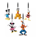 Disney Figural Ornament Set - Classic Mickey Mouse & Friends
