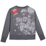 Disney Woman's Pullover - Mickey & Minnie's Runaway Railway