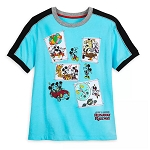 Disney Woman's Shirt - Mickey & Minnie's Runaway Railway