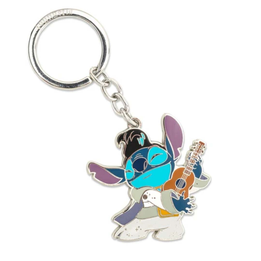 Disney Loungefly Keychain - Stitch as Elvis