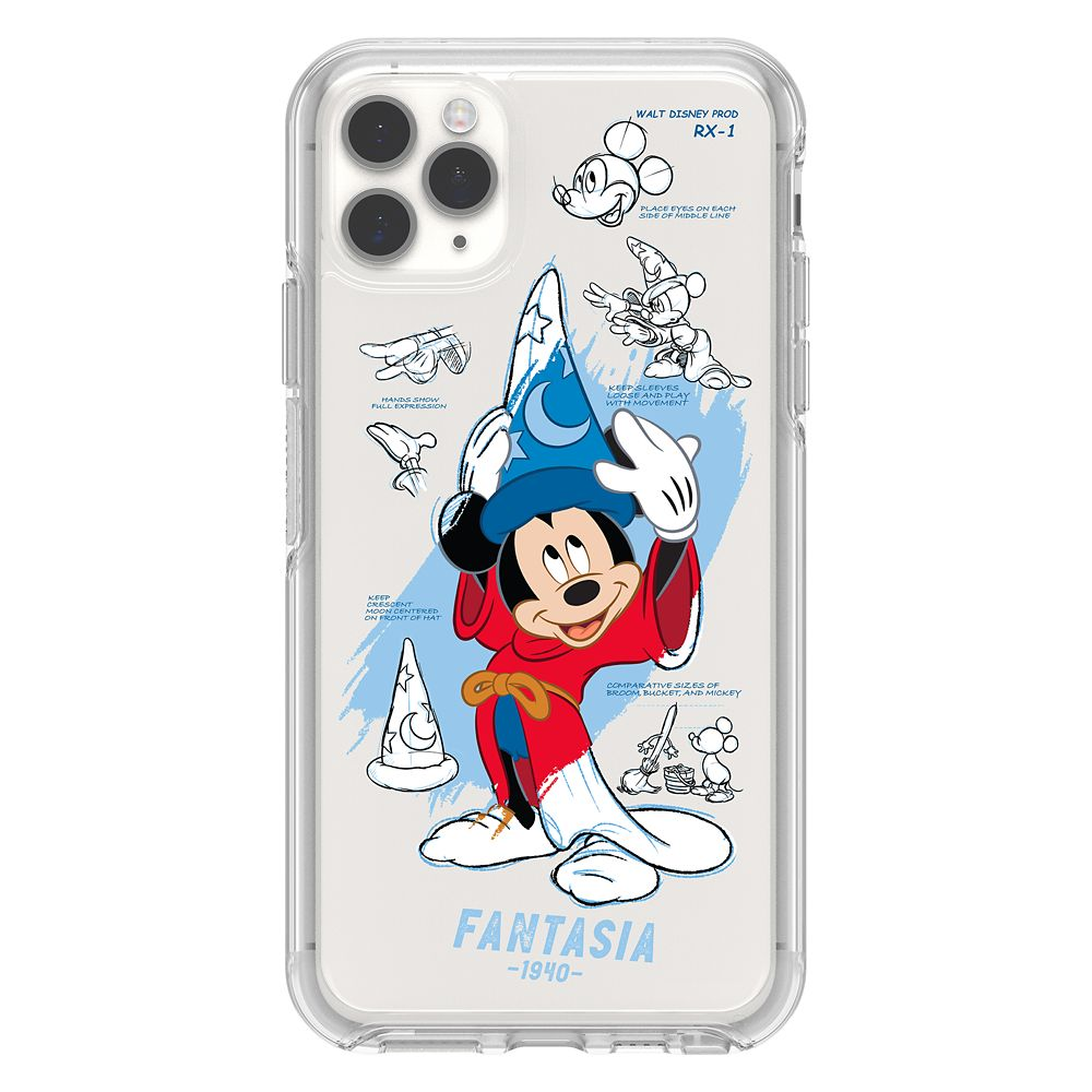 Disney iPhone 11 Pro MAX Case by OtterBox - Ink and Paint - Sorcerer Mickey Mouse