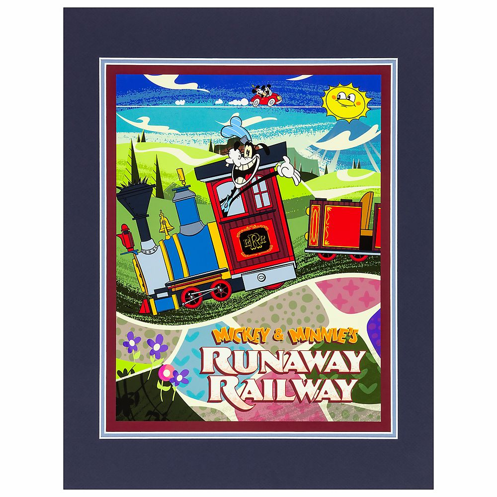 Disney Deluxe Print - Mickey and Minnie's Runaway Railway