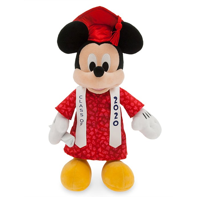 Disney Plush - Graduation Mickey - Class of 2020