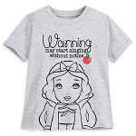 Disney Girls Fashion Shirt - Snow White - Warning May Start Singing Without Notice