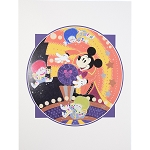 Disney Print - Cast a Spell of Light - Morgan Ditta - 14'' x 18''