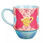 Disney Coffee Cup Mug - Minnie Mouse The Main Attraction - Mad Tea Party - Limited Release