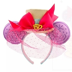 Disney Minnie Ear Headband - Minnie Mouse The Main Attraction - Mad Tea Party - Limited Release