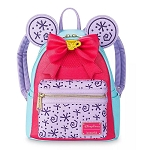Disney Loungefly Bag - Minnie Mouse The Main Attraction - Mad Tea Party - Mini Backpack