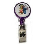 Disney Cast Member Retractable Lanyard - Lilo and Stitch