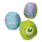 Disney Tails Ball Set - Monsters, Inc. Squeaky Chew Toys for Dogs