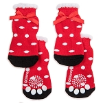 Disney Tails Dog Socks - Minnie Mouse Polka Dots