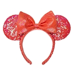 Disney Minnie Ear Headband - Coral Minnie Mouse