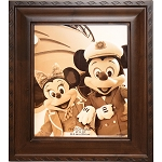 Disney Photo Frame - Disney Cruise Line - Ebony Bevel Frame 8x10