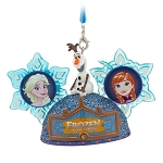 Disney Ear Hat Ornament - Epcot Frozen Ever After