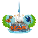 Disney Ear Hat Ornament - Epcot The Seas with Nemo and Friends