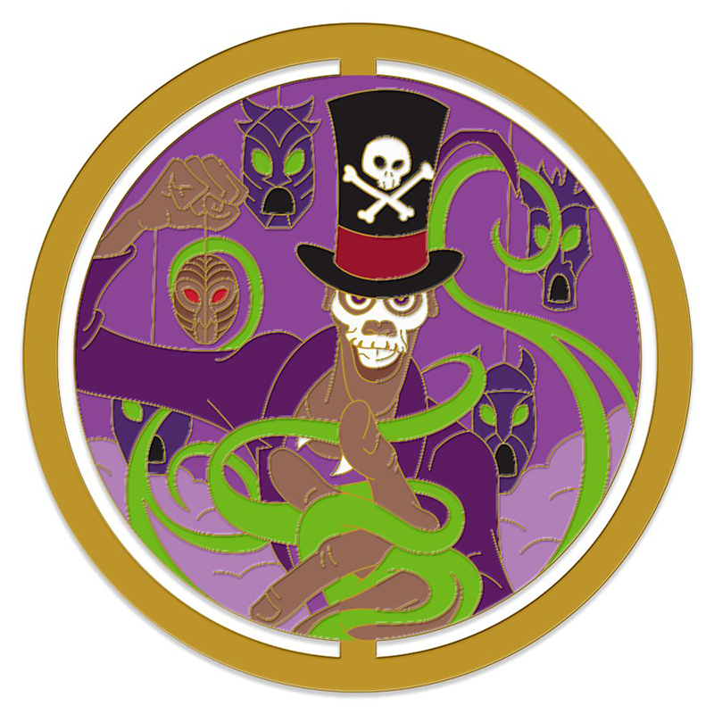 Disney Pin - Enchanted Emblems - Dr Facilier - Limited Edition